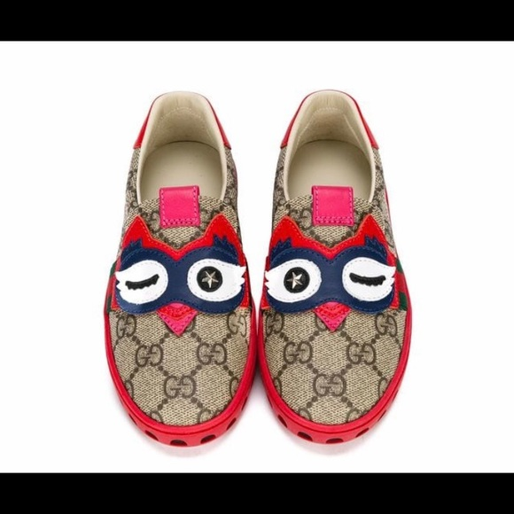 13abf990879 Gucci Other - Gucci Kids GG Supreme Owl Sneakers